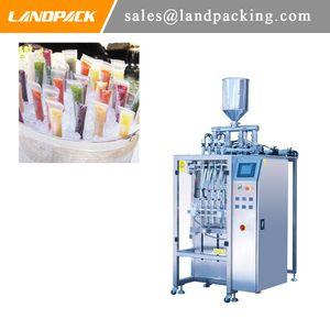 Multi Lane Liquid Stick Pack Machine Máquina de envasado de bebidas de jugo