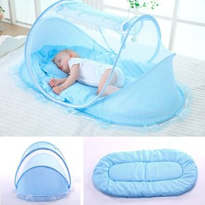 Newborn Sleep Crib Netting Portable Foldable Polyester Baby Bed Mosquito Net Play Tent Children
