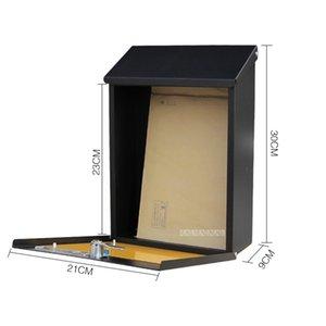 Корейского Малого Вилл Творческой почта Письмо Газета Почтовой Почта Предложение Case Box водонепроницаемого Rural Стиль Настенный почтовый ящик