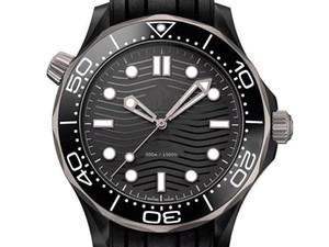 Vente en gros mer 300m de luxe en 300361 en acier inoxydable, bracelet en caoutchouc d'origine, étanche à l'eau, la montre mécanique entièrement automatique de l'homme,