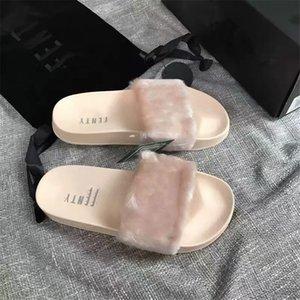 2020 Women'S New Rhinestone Denim Slippers Tassel One Word Drag Thick Flat With Women'S Sandals Fashion Casual Wild Slippers#886