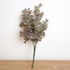 30 CM Longueur Plantes artificielles Lifelike Faux Verdure Herbe Simulation Eucalyptus mariage Décoration Accueil Salon 2 Décore 9dyb1