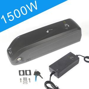 52V EBike Batterie 52V 17Ah Lithium-Batterie mit Ladegerät für 3A 1000W 1500W Motor