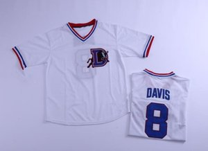 Maillot Bull Durham Kevin Costner Homme Maillot 8 Baseball Crash Davis