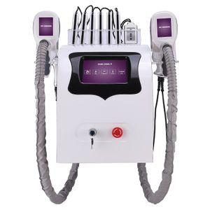 Einfrieren Fat Cryolipolysis Schlankheits-Maschine CE 2 Cryo Cavitation Rf Lipo Laser 5 in 1 Gewichtsverlust Schönheit Ausrüstung
