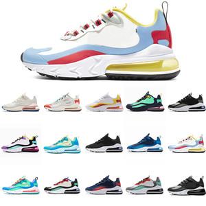 nike air max 270 react Ucuz erkekler kadınlar için BAUHAUS Koşu ayakkabıları React OPTIK Bej SAĞ KESICI HYPER JADE Pembe erkek eğitmenler spor açık koşu