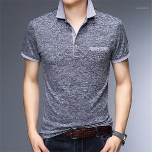 Tops Casual Male Tops Stand Collar Designer Mens Tshirts Summer Short Sleeve Pullover Mens