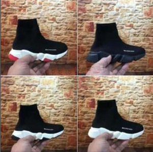 Fashion hot sale Kids Socks Boots Children Athletic Shoes Casual Flats Speed Trainer Sneaker Boy Girl High-Top Running Shoes mixed color