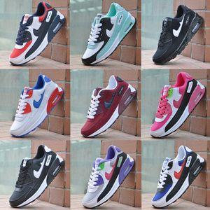 2020 tendance d'explosion version coréenne 90 chaussures de femmes coussin d'air chaussures de course de sport sauvages occasionnels lumière des hommes et des femmes chaussures simples 36-45