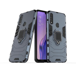Pour robuste Support Oppo A8 cas Boucle Qualité Combo hybride Armure Support Housse de protection d'impact Holster pour Oppo A8
