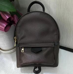 Europa de la manera del cuero genuino de Palm Springs bolsa de las mujeres famosos diseñadores de mochilas de la cadena del bolso de hombro de los bolsos de las mujeres de la mochila