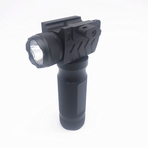 Tactical hand grip laser flashlight Tactical flashlight grip one strong light tube outdoor sports hunting flashlight