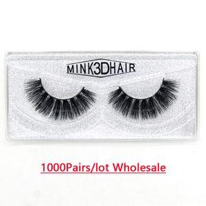 1000Pairs carton USA UK Multi Layers Fake Lashes H Series Handmade Eyelashes High Quality False Lashes Factory Sale for Distributor