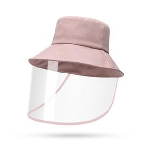 Yeni Anti-sis Şapka Erkekler Kadınlar Toz Koruma Kepçe Hat Kadın Açık Seyahat UV Protect Balıkçı Şapka Ve Güneş Caps