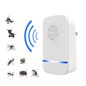 Ultrasonic Mosquito Repelente ultra-Rato Cockroach Pest Repeller dispositivo de insetos Rats Spiders Anti Mosquito assassino Início Pest Rejector