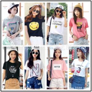 3 юаней короткими рукавами футболки женщин чистой ночной рынок 3 юаней с короткими рукавами футболки одежда женская одежда чистая Night Market
