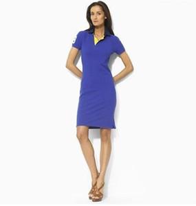 Free shipping New Brand women's shirt cotton lapel short-sleeved slim bag hip skirt short skirts