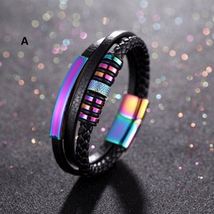 Fashion Classic Love Bracelet Luxe Women Men Hip Hop Punk Stainless Steel Bracelet Leather Charm Bangle Jewelry Gifts Wholesale with Box Ins