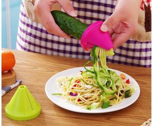 Creative Kitchen Gadgets Acessórios de cozinha vegetal Carving Faca Rolo Flor do melão Shaving Rake Planer Cut Pepino Rabanete