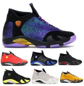 Uomini Doernbecher 14 scarpe da basket Rip Hamilton Candy Cane Last Shot Giallo Jumpman sabbia del deserto 14s 2020 nuovo progettista Sneakers Scarpe scarpe