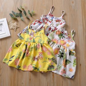 INS Baby Girls Tutu Dresses детская цветочная юбка летняя вечеринка элегантная юбка 3 цвета 2020 новый