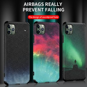Shockproof Airbag Phone Cover Starry Sky Soft TPU Case For iPhone 11 Pro Max XS Max XR X 8 7 6 SE 2020