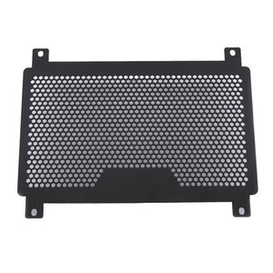CNC Aluminium Motorcycle Engine Radiator Guard Protector Grille Grill Cover Replacement for Kawasaki NINJA400 Z400 18 19 Motorbikes - Black