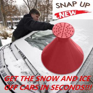 2019 سيارة الزجاج الأمامي إزالة الثلوج ماجيك outdoor الجليد مجرفة مخروط شكل قمع الثلوج المزيل أداة كشط أدوات السيارات مكشطة الجليد