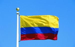 جمهورية كولومبيا العلم راية 3x5ft كولومبيا الكولومبية أمريكا الجنوبية البوليستر مراوح الهتاف الأعلام 90x150 سنتيمتر