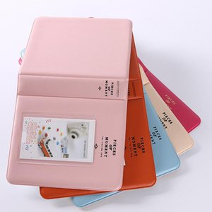 Hot New Wholesale Price 64 Compartments lovely photo Album for Instax Mini 7s 8 25 50s 90 Name Card Credit Card