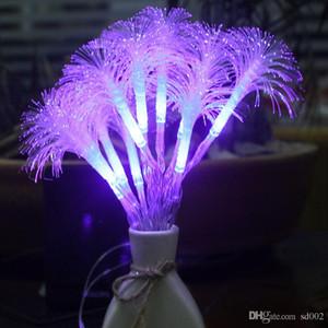 صباح المجد أضواء ملونة babysbreath أكثر لون مصباح سلسلة الصمام فانوس حفل زفاف غرفة الديكور الألياف البصرية 9xyC1