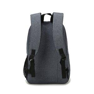 Designer-DIDA BEAR Moda Tela Zaini borse grande scuola per ragazze adolescenti portatile borse da viaggio zaino grigio delle donne degli uomini