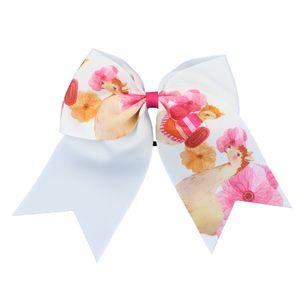 """INS cabelo 20 cores arco 8"""" hairband Animais Flores cópia do estilo Hairbands grande bowknot menina hairbands Hairpin meninas miúdos arcos de cabelo"""