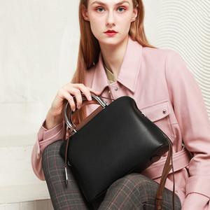 Designer-New européen et américain Hot Sacs de vente Sacs pour femmes en cuir Sacs Boston femmes Sac à main épaule Messenger Bag 9069