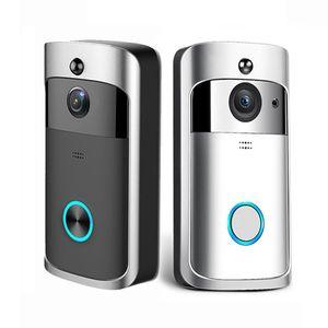 الذكية ip فيديو إنترفون WI-FI الفيديو باب الهاتف جرس الباب wifi كاميرا الجرس للشقق ir إنذار كاميرا لاسلكية الأمن