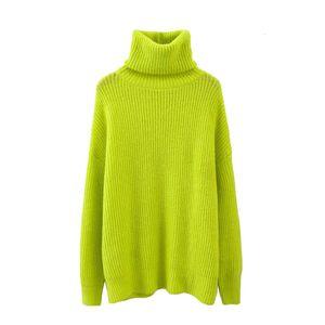 Womens Designer Designer Maglioni Maglione Donne epoca elegante oversize lavorata a maglia 2019 Alta Moda collo signore Pullover Femme