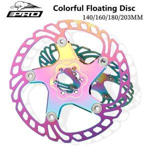 / 203 mm IIIPRO Renkli Yüzer Disk MTB Dağ Bisikleti Fren 140/160/180 Altı Tırnak Disk Fren Plakası Yol Bisikleti Bisiklet Parçaları