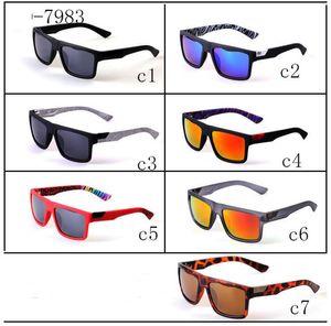 Óculos de sol de luxo Marca mulheres Esportes Praia Óculos De Sol Full Frame fit Face 7 opções de cores Navio rápido 7983 Óculos de Sol mens óculos de sol