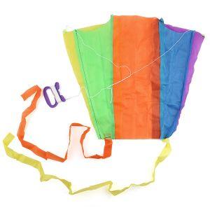 المحمولة الطي الجيب الطائر كايت كيد لعبة تخزين حالة outdoor الرياضة الأطفال هدية متعدد الألوان واحدة صغيرة kitesta 154