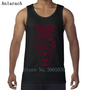 Maori Tribal Tattoo Mask Vest Big Sizes Singlets Customized Casual Tank Top For Men Family High Quality Summer Style