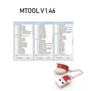 MTool V1.4 6 Otomobil OBD M-BUS Araç Kilometre Programcı Düzeltme Aracı Yazılım ve Adapter Kilometre Değişikliği ayarlayın