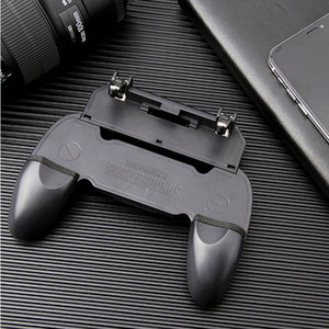 W10 Universal Mobile Phone Game Controller Joystick Chicken Dinner Gamepad For Aim Trigger Shooter Button Smart Game Accesories high quality
