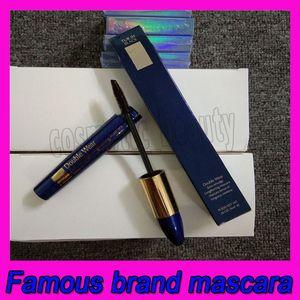 Maquillaje de ojos caliente 9 ml Double Wear Zero-mancha Alargamiento Tenue et longueur extrema Negro impermeable Natural Ojos cosmética