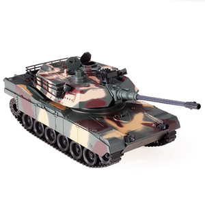 RC 1:18 2.4Ghz Tank RBR C M1A2 Radio Control Car Military RC Tank RC Crawler Vehicle Models Battle Toys for Kids Gifts