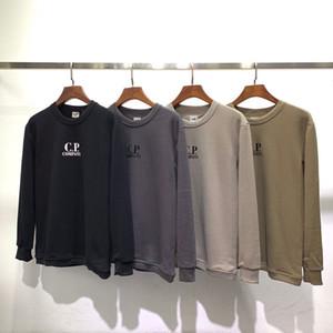 Herren Designer Sweatshirts CP Company Pullover Art und Weise gedruckte Sweatshirts Herren Langarm-Thin Sweatshirts Hip Hop Tops Asiatische Größe S-2XL