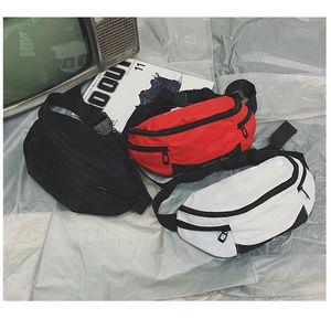 Lo nuevo hombro de los bolsos de la cintura del paquete de Fanny de ocio para hombres y mujeres Carta alta calidad Oxford Bolsa de cintura 111 Packs