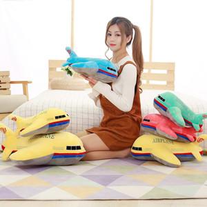 1 개 40cm 시뮬레이션 봉제 장난감 인형 비행기 베스트 셀러 장난감 부드러운 봉제 베개 가와이이 크리스마스 선물을 위해 아이