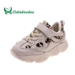 Claladoudou 13.5-15.5 CM Crianças Sapatos Meninos Meninas Moda Esportes Sapatos Casuais Crianças Tênis Respirável Sapatos Da Criança Do Bebê 1-3Y