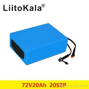 BOOANT 72V 20AH Scooter bateria para Bafang 3000W Motor de iões de lítio bloco 20S 8P E-Bicicleta Li-ion com 84V 5A carregador