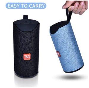 2020 Nova TG Bluetooth Speaker Portátil ao ar livre alto-falante sem fio Mini Coluna 3D 10W Stereo Music Surround Suporte FM TFcard baixo caixa